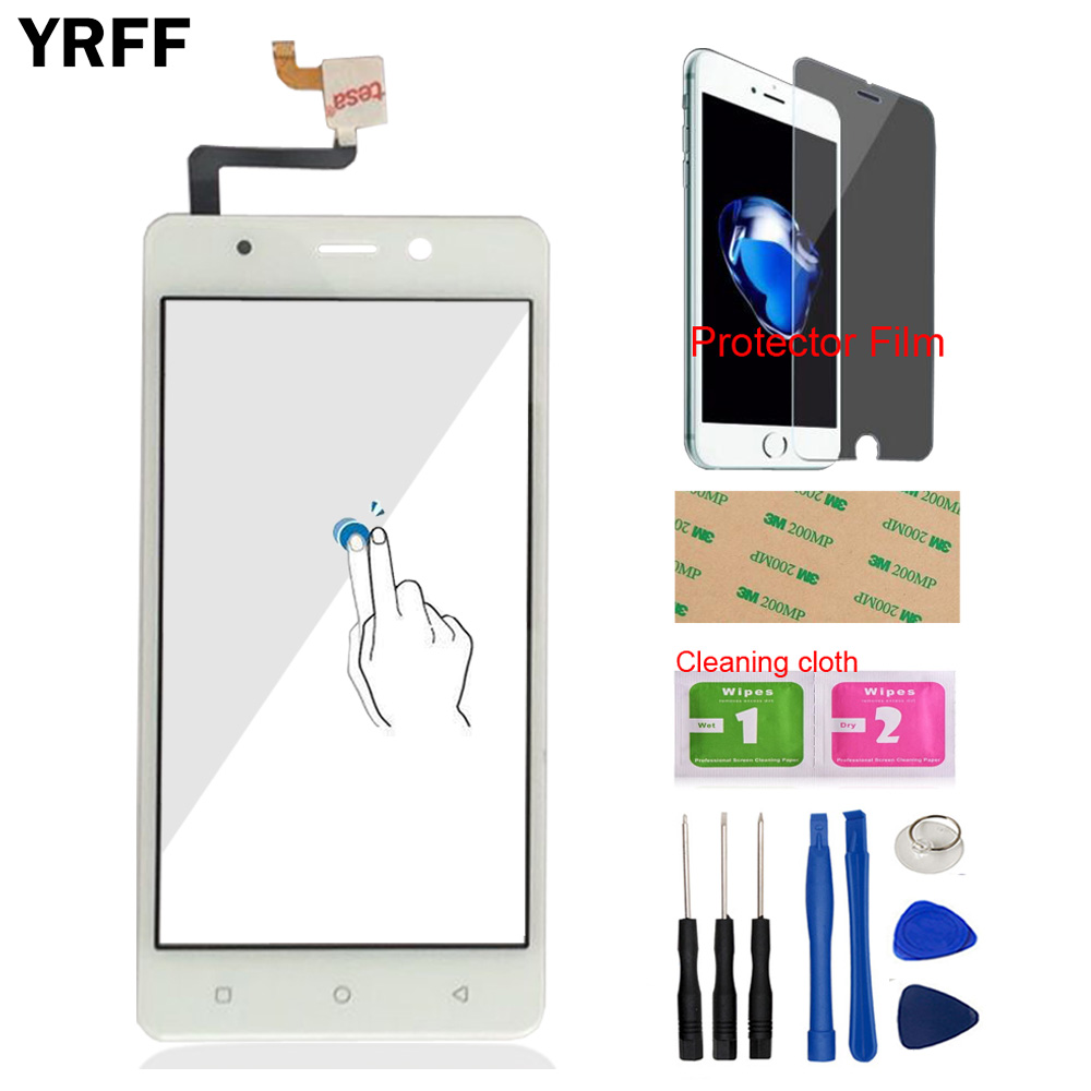5.0'' Front Glass Touch Screen Glass Capacitive Lens Sensor For BlackView A8 Digitizer Panel Phone Tools Protector Film Adhesive