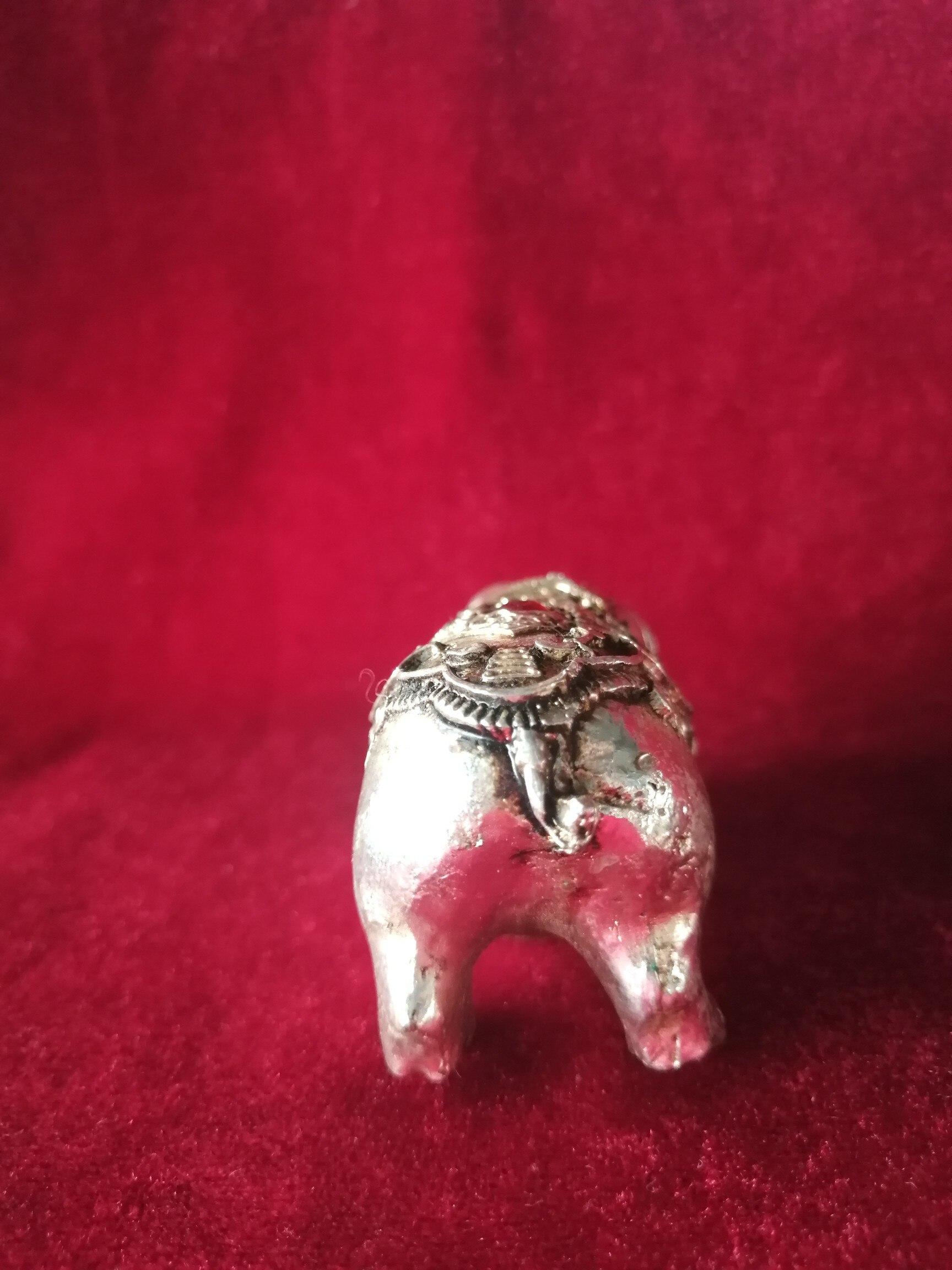 Requintado cobre banhado a prata antiga (incrustado