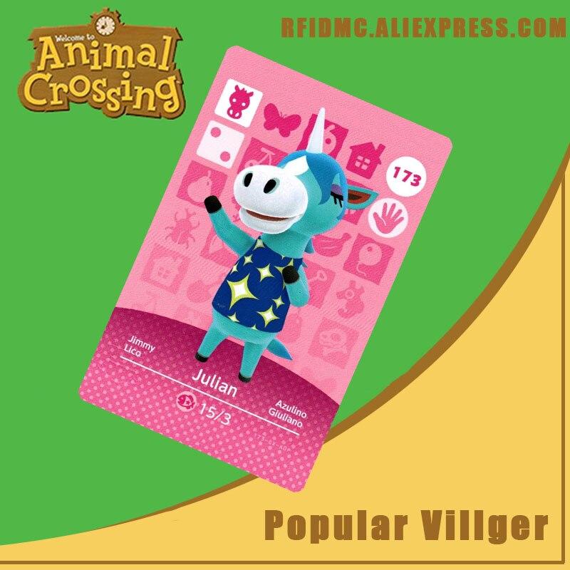 173 Julian Animal Crossing Card Amiibo For New Horizons