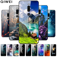 For Miezu M8 Case 5.7'' Fashion Luxury Glass Hard Back Cover
