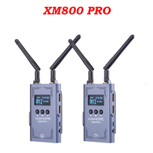 FORHOPE XM800 PRO 800ft Wireless Transmission System Audio Communication Tablet Phone Monitoring For Camera Studio Photography