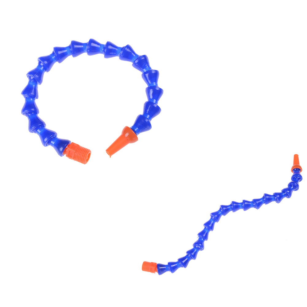 1pcs 300mm Adjustable Universal Lathe Plastic Flexible Water Oil Coolant Pipe Hose Round Nozzle 1/4 Spark Plug Tube Condenser