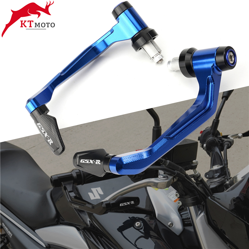 Рукоятки руля мотоцикла с ЧПУ для SUZUKI GSXR GSX-R 600 750 1000 + защита для рычагов тормозной муфты
