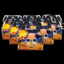 24 шт./лот коробка для торта конфет подарочные сумки дети астронавт Солнечная космическая тема вечерние детские Душ вечерние украшения вечерние сувениры