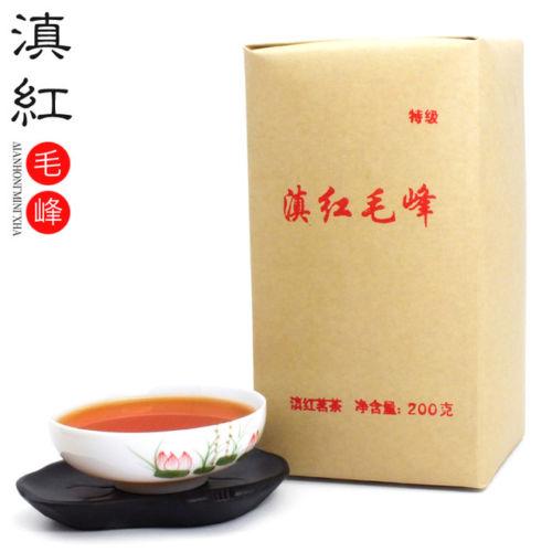 2019 Fengqing Dianhong Maofeng Dian Hong Congou Black Premium Mao Feng 200g