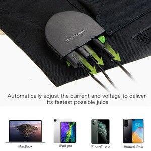 Image 2 - ALLPOWERS ładowarki do telefonów komórkowych ładowarka do smartfona 5V 12V 18V 100W USB DC bateria słoneczna do laptopa Tablet telefony komórkowe