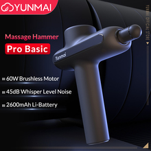 YUNMAI pistola de masaje de FINESS Pro, masajeador de relajación muscular profunda, Fascia, 3 modos, masajeador corporal de Youpin
