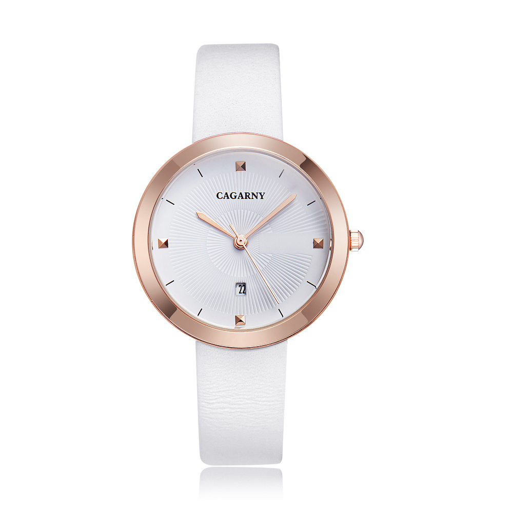 simple style ladies watches hot fashion women quartz watch female clock vogue leather strap rose gold case waterproof relogio feminino часы женские reloj mujer montre homme (3)