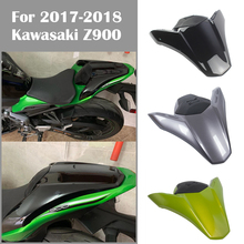For Kawasaki Z900 Motorcycle Rear Pillion Seat Cowl Passenger Cover Tail Section Fairing Cowl Back Cover fit for Z900 Z 900 Z-90 motorcycle seat cowl rear passenger cover for kawasaki z900 z 900 2017 2018 motor abs accessories rear seat cover cowl