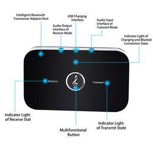 Image 5 - 2020 Bluetooth 5.0 nadajnik dźwięku odbiornik Stereo Adapter bezprzewodowy 3.5mm 3.5 AUX Jack RCA klucz USB do słuchawek samochodowych PC TV