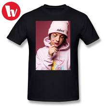 Lil Xan T Shirt Print Male Casual T-Shirt Oversize 100 Percent Cotton T Shirts Summer Short Sleeve Oversized Music Tee Shirt(China)