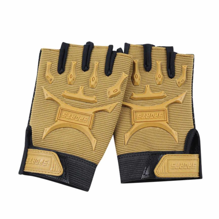 Kinder Sport Handschuhe Für Training Handschuhe Mit Handgelenk Unterstützung Für Fitness Fahrrad Handschuhe Jungen Mädchen Sport Radfahren Fahrrad Hälfte Finger