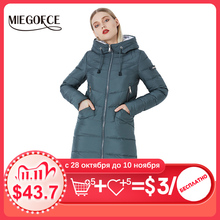 Women's Jacket Coat Parkas MIEGOFCE Warm Winter Simple Biological-Down High-Quality