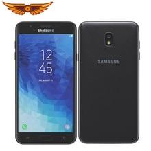 Оригинальный разблокированный сотовый телефон Samsung Galaxy J7 (2018) J737 Octa-core 5,5 дюймов 2 Гб ОЗУ 32 Гб ПЗУ LTE камера 8 МП одна SIM-карта 1080P