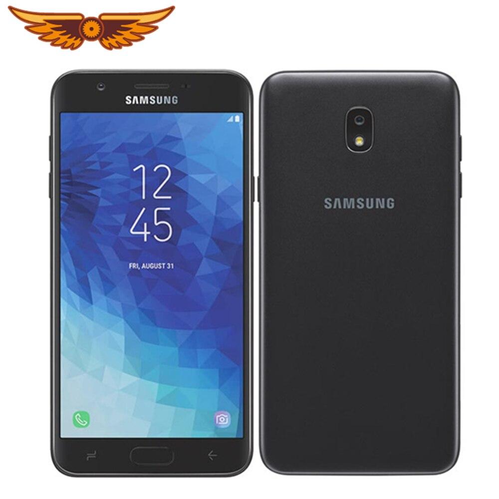 Samsung-teléfono inteligente Galaxy J7 Original libre, pantalla de 2018 pulgadas, 2GB RAM, 32GB ROM, LTE, cámara de 8MP, Tarjeta SIM única, 5,5 P, J737