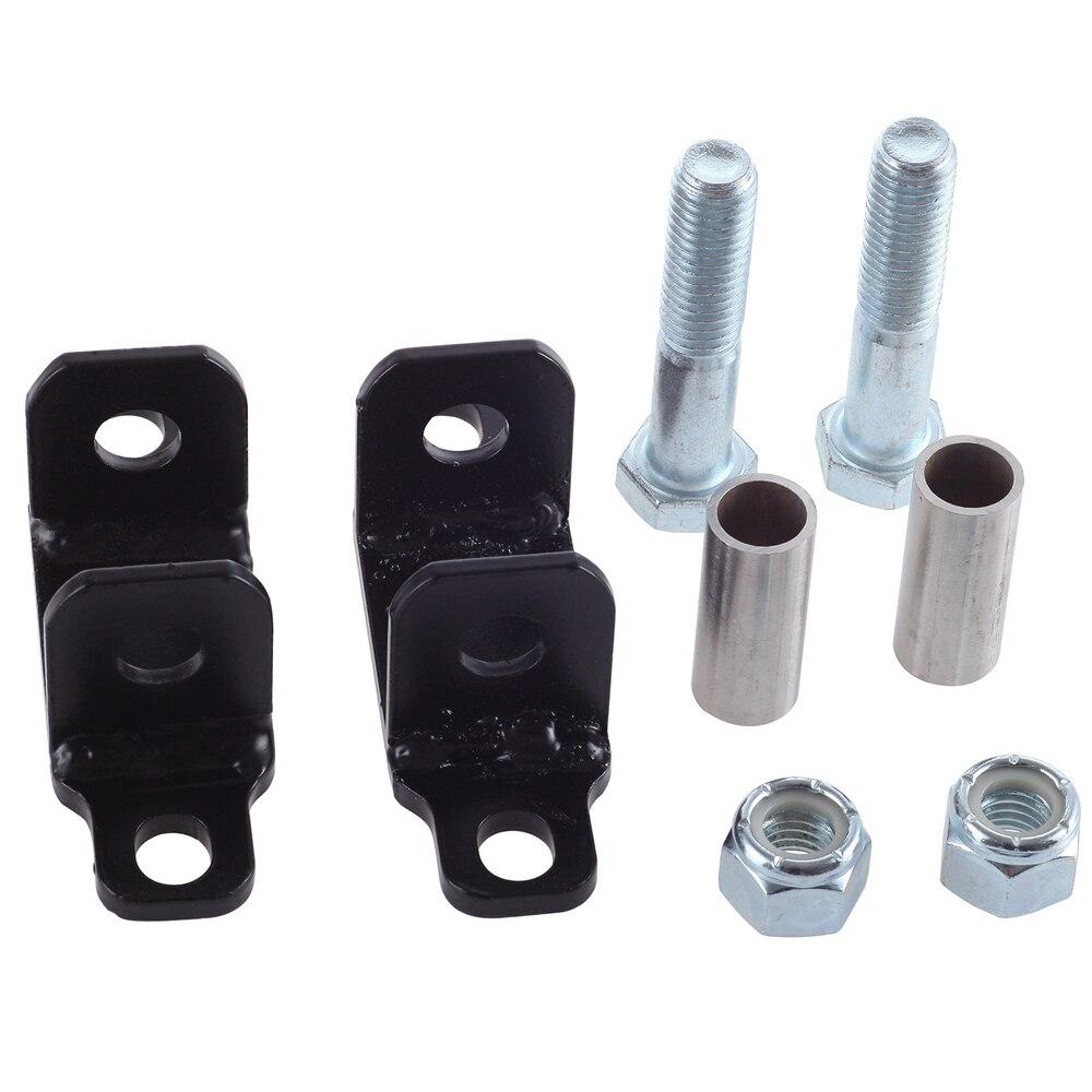 ELITEWILL Rear Shock Upper Bar Pin Eliminator Fit for 1997-2018 Jeep Wrangler JK TJ 1089