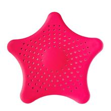 1Pc Star Plastic Bad Keuken Afval Gootsteenzeefje Haar Filter Afvoer Catcher(China)