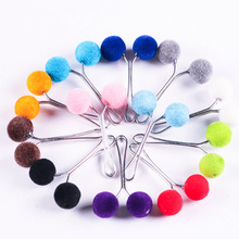 12 Pcs/Lot Muslim Women Hijab Pins For Scarf Fashion Hair Ball Brooch Shawl Clips Headscarf Jewelry Brooches Clothes Accessories