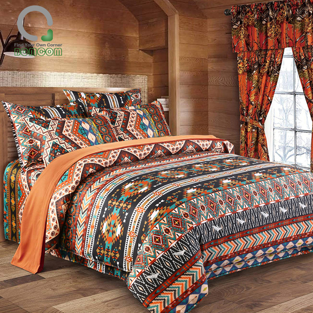 Boho Ethnic Duvet Cover Set