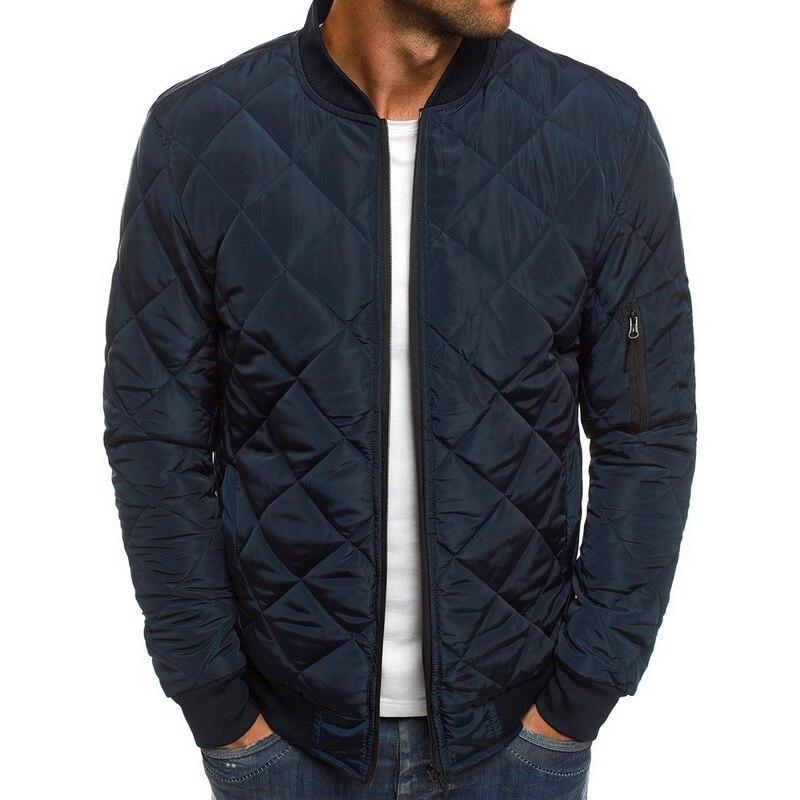 Hef43424f69564b5a800e9b3ea2d7ccf2T 2019 Autumn Winter Jacket Men Warm Coats Streetwear New Male Lightweight Windproof Packable Jacket hip hop baseball Coat Outwear