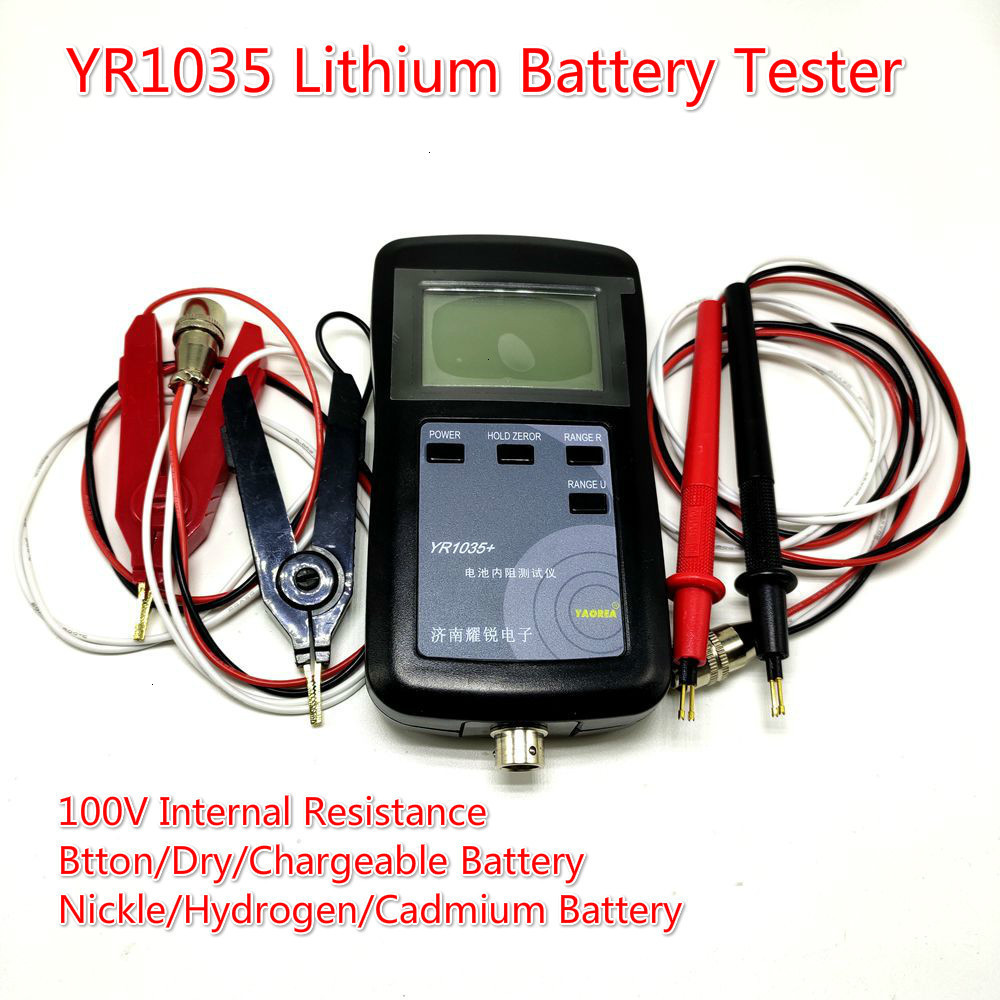 New Original Four-line  High Precison YR1035 Lithium Battery Internal Resistance Meter Tester YR 1035 Detector 18650 Dry Battery