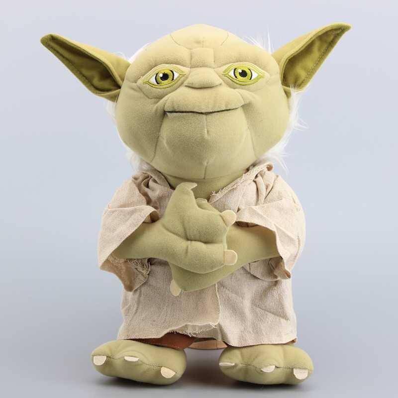 Star Wars Yoda Plush Toy Soft Stuffed Doll 36cm 14'' Teddy Brinquedos Gift Cool Yoda