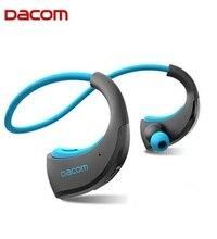 Orijinal DACOM zırh G06 IPX5 su geçirmez spor kablosuz Bluetooth kulaklık V4.1 G06 anti ter kulak kancası koşu kulaklık.