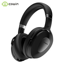 COWIN ANC SE8 Active Noise Cancelling Headphones Bluetooth Headphones Wireless Headset Over Ear with Mic SBC and AAC audio codec cheap Dynamic CN(Origin) Wireless+Wired 100dB For Internet Bar Monitor Headphone for Video Game Common Headphone For Mobile Phone