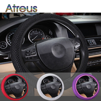 Universal Car Steering Wheel Cover Breathable Skid for BMW E46 E90 E60 F30 E39 E36 F20 E87 E92 E30 X5 E70 E91 M serie 1 G30 E34 image