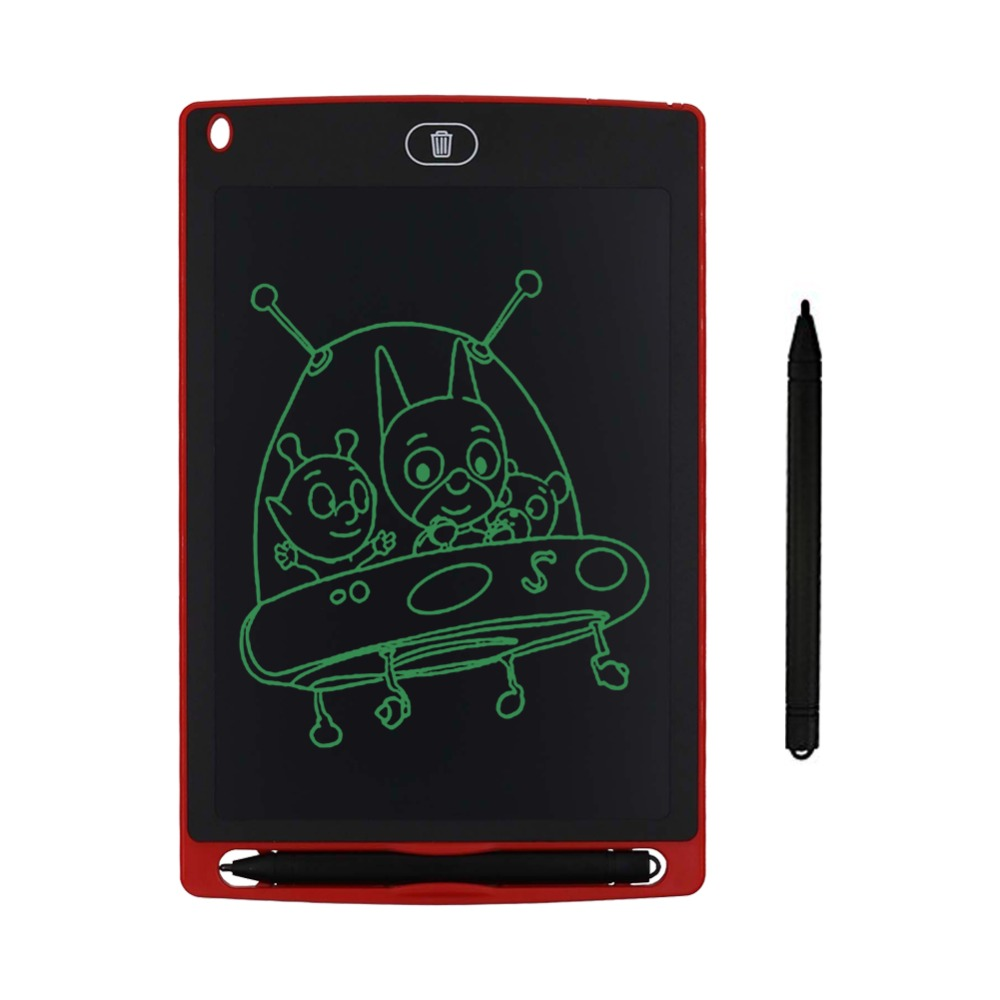Chalk Electronic Writing Board 8.5 Inches Mini Small Boards Blackboard LCD Tablet Magnetic Chalkboard For Girls Boys Graffiti