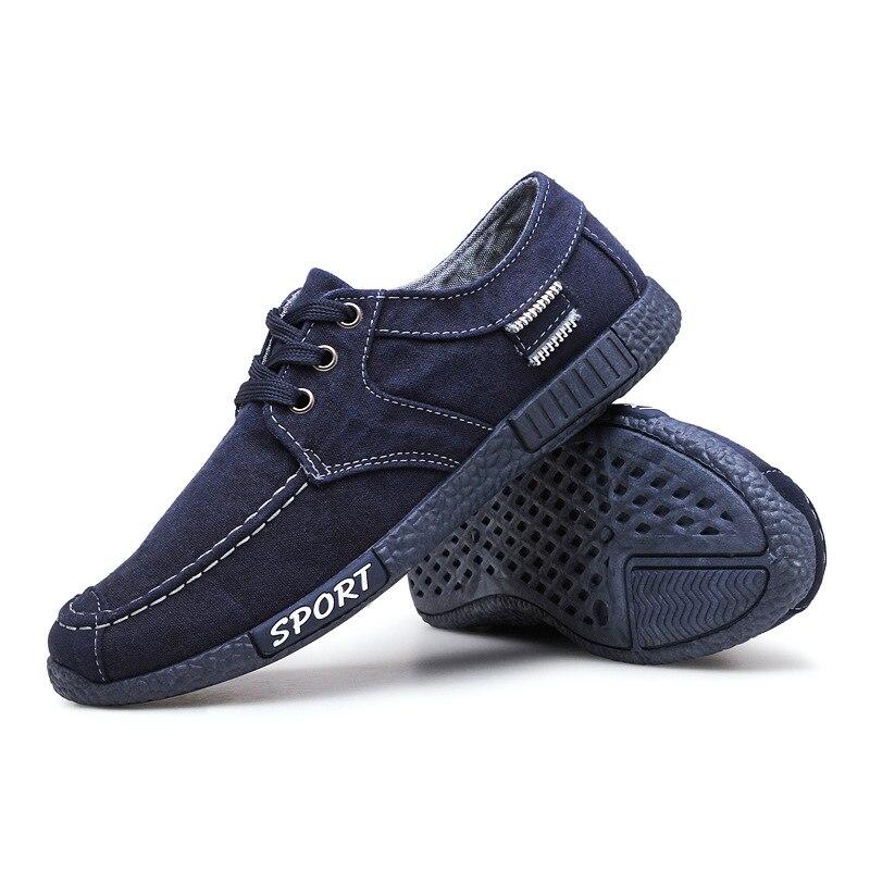 BACKCAMEL 2018 nouvelle mode classique chaussures pour hommes confortable respirant Denim chaussures basse tendance Denim toile chaussures taille 39-44