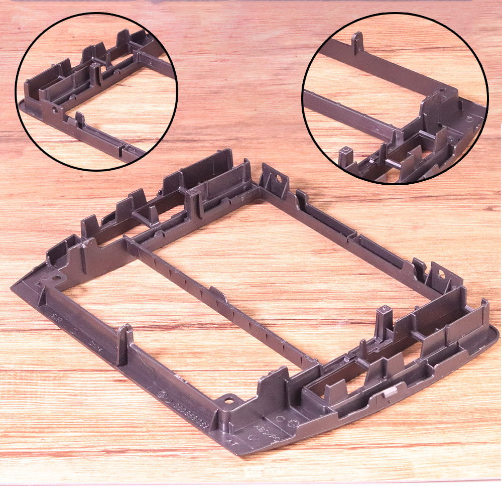 ABS Black Interior Dash Center Console Trim Bezel Panel Radio Face Frame 3B0858069 Fit For VW Passat B5 2001 2002 2003 2004 2005-3