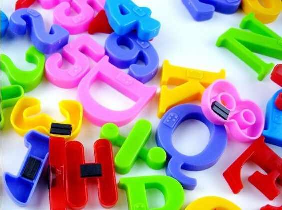 Ensemble cadeau aimants enseignement Alphabet lot de 26 coloré magnétique réfrigérateur lettres et chiffres éducation apprendre mignon enfant bébé jouet 930Z