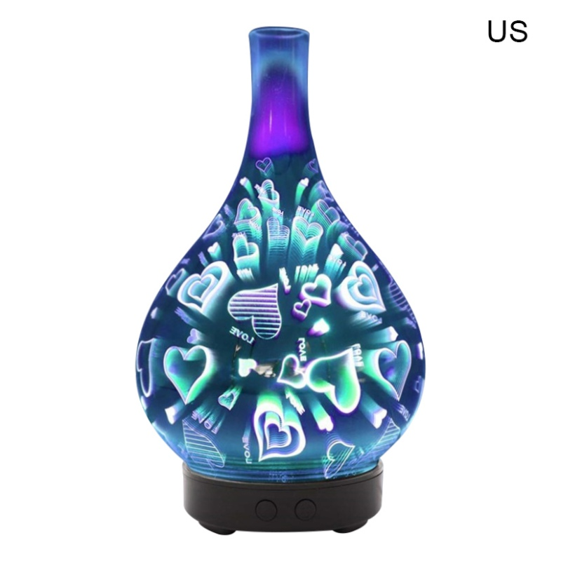 Essential Oil Aromatherpy Diffuser Cool Mist Humidifier With 7-Color Changing LED Night Lights For Home Bedroom Office Spa Yoga