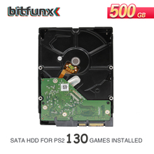 """3.5"""" SATA Internal Hard Drive for PS2 with Games Installed 500GB/1TB/2TB USED HDD One Year Warranty"""