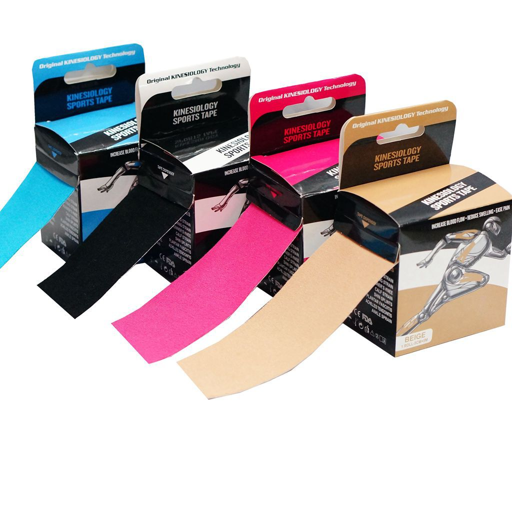 Sport Ware Kinesio Taping Muscle Paste-Tailor Self-adhesive Bandage Elastic Sports Bandage