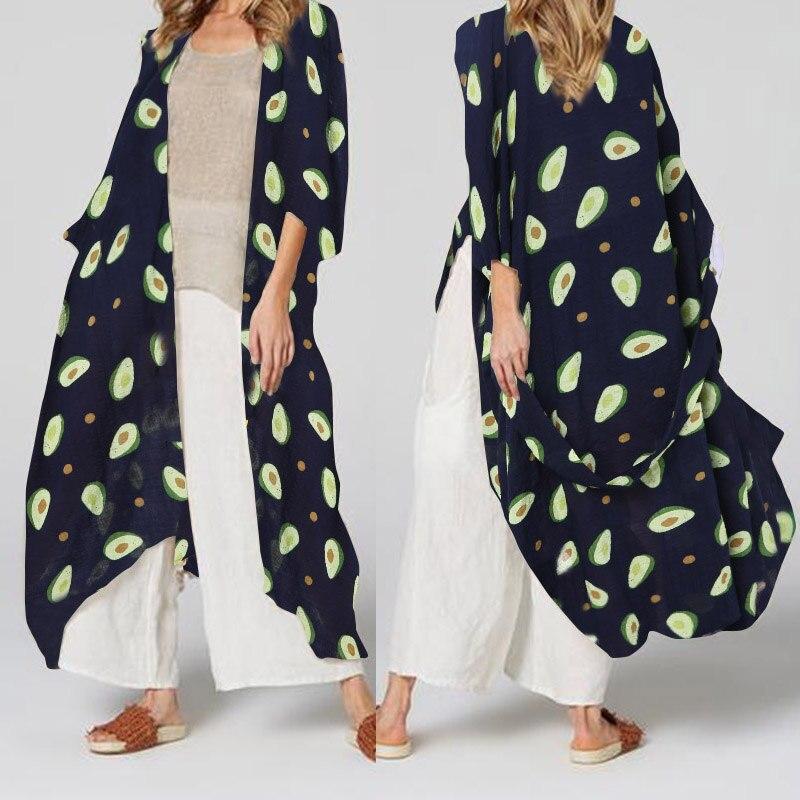 Womens Open Kaftan Crochet Cardigan Summer Beach Cover Up Fringe Kimono Size