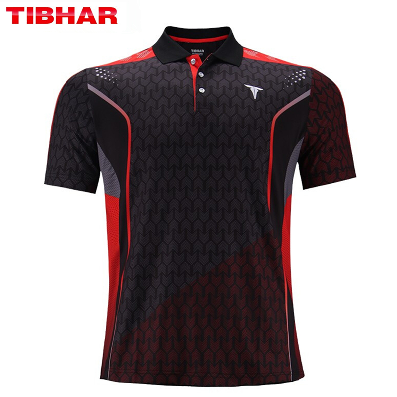TIBHAR Table Tennis Jerseys Super Light Good Quality Quick-drying Ping Pong T-shirts Sportswear