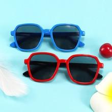Fashion Polarized Kids Sunglasses Silicone Flexible Glasses Shades Eyewear Goggle For Children Uv400 New 2021