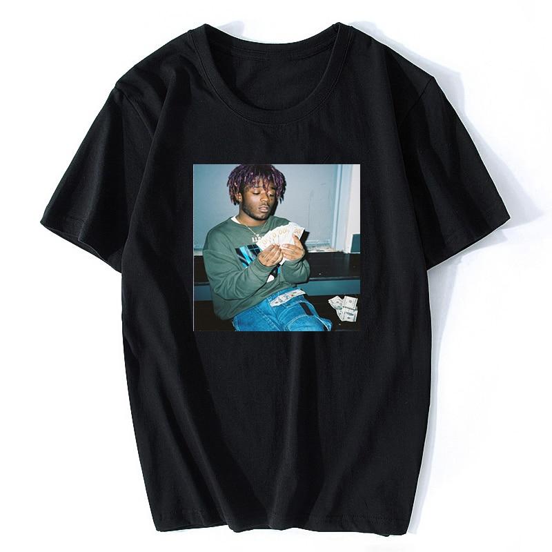 2020 Lil Uzi Vert T-Shirt Hiphop Rapper Singer XO TOUR Llif3 Luv Is Rage Quavo Lil Uzi Vert Simple Graphic Tee Cool Funny Shirt