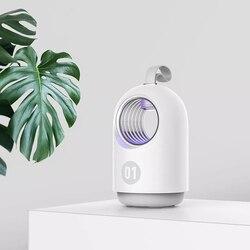 Przenośna lampa przeciwko komarom dom ciche promieniowanie wolne światło ultrafioletowe bez hałasu USB ładowanie lampa odstraszająca komary zabójca much