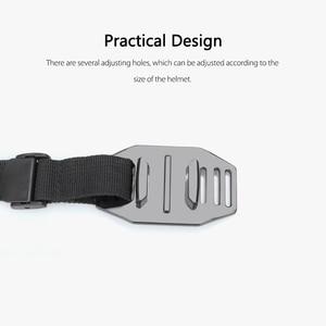 Image 3 - Vamson עבור ללכת פרו גיבור 7/6/5/8 מתכוונן אופני קסדת ראש רצועת חגורת הר בעל מתאם עבור Xiaomi יי 4K אוסמו פעולה VP201X
