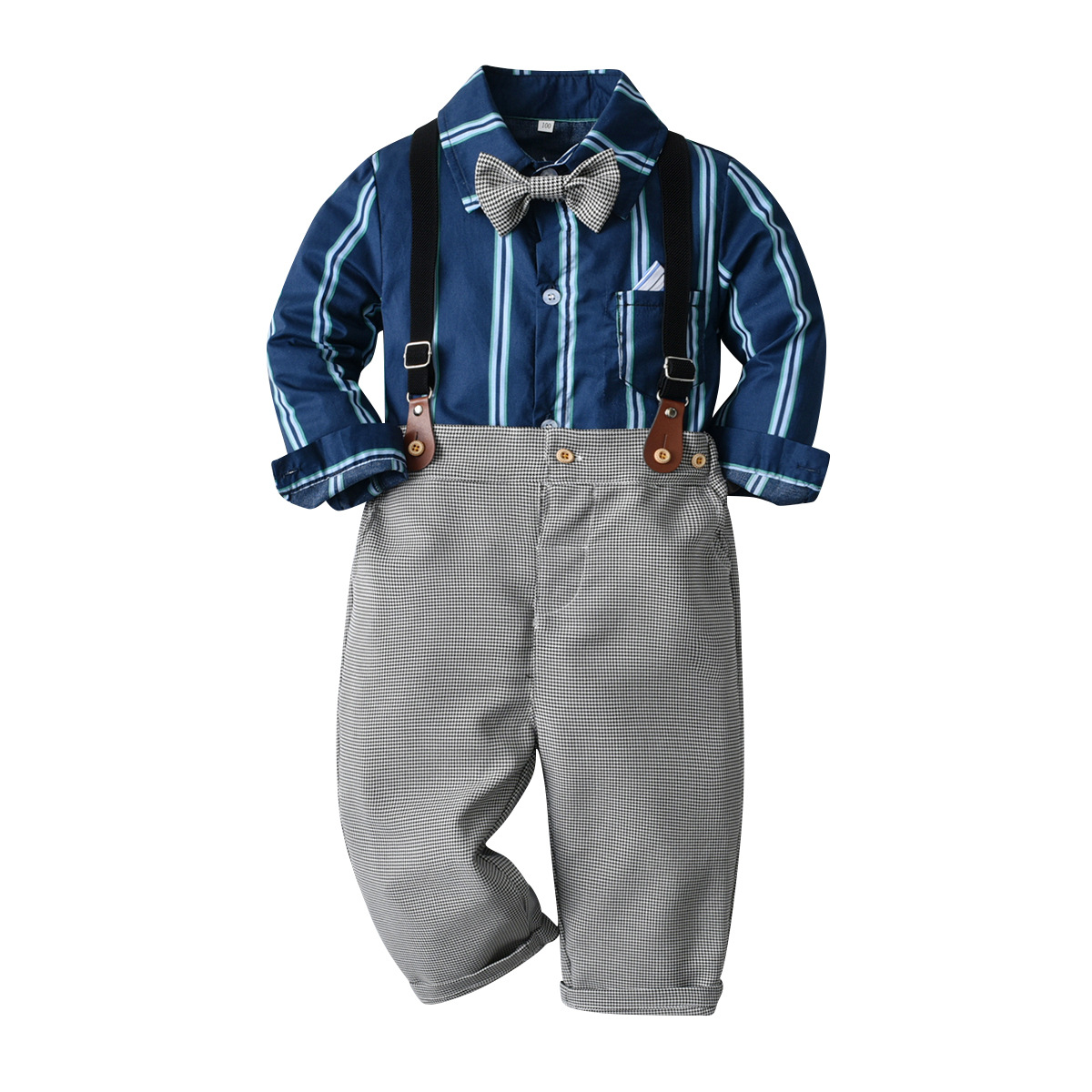 outono crianças ternos formais camisa manga comprida