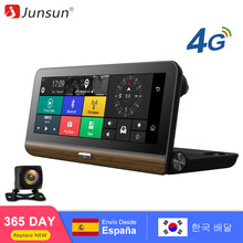 "Junsun E31 Car DVR Camera 4G compatible con más 7.80 ""Android 5.1 GPS BT Dash Cam Registrar Video Recorder con dos cámaras(China)"