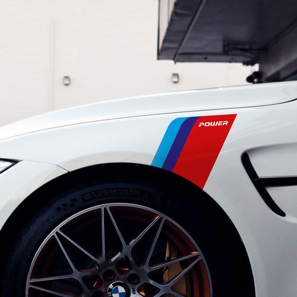 Модификация автомобиля 2P наклейка на крыло для bmw E84 E83 E70 F15 E71 F16 E81 E87 F20 E90 E91 F30 E60 E61 M5 F10 E63 1 3 5 7 серии GT