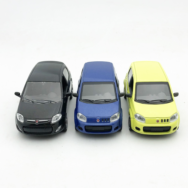 Norev Fiat Palio 1/43 Car Model Alloy UNO Travel Car Collection Simulation Model Toy Decoration Model
