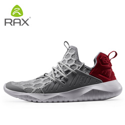 RAX Men CRAZY RUN Cushion Running Shoes Lightweight and Flexible Lining Support Sports Shoes Comfort Sneakers ARHP007 XYP868