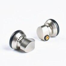 Yincrow RW 1000 3.5Mm Oordopjes Hifi Metalen Cnc Oortelefoon 15Mm Dynamische Afneembare Mmcx Kabel X6 PT25 TO600 KP120 TP16 TO400