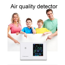 JSM 136 Air Pollution Monitor 5 In 1 Multi-function Laser Sensor Smart Detect PM2.5 PM10 PM1.0 Air Quality Monitor Gas Analyzer