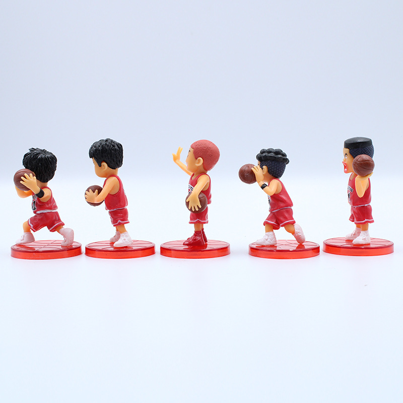 Image 5 - 5pcs/set Basketball Cartoon Character Car Ornament Decoration Car Accessories Ornament Interior Hanging Pendant for Girls-in Ornaments from Automobiles & Motorcycles
